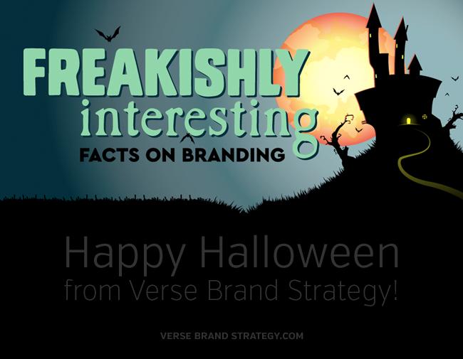 Happy Halloween! Freakishly Interesting Branding Facts
